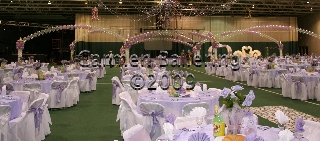 "balloon canopies add the ""Wow!"" factor to an event"